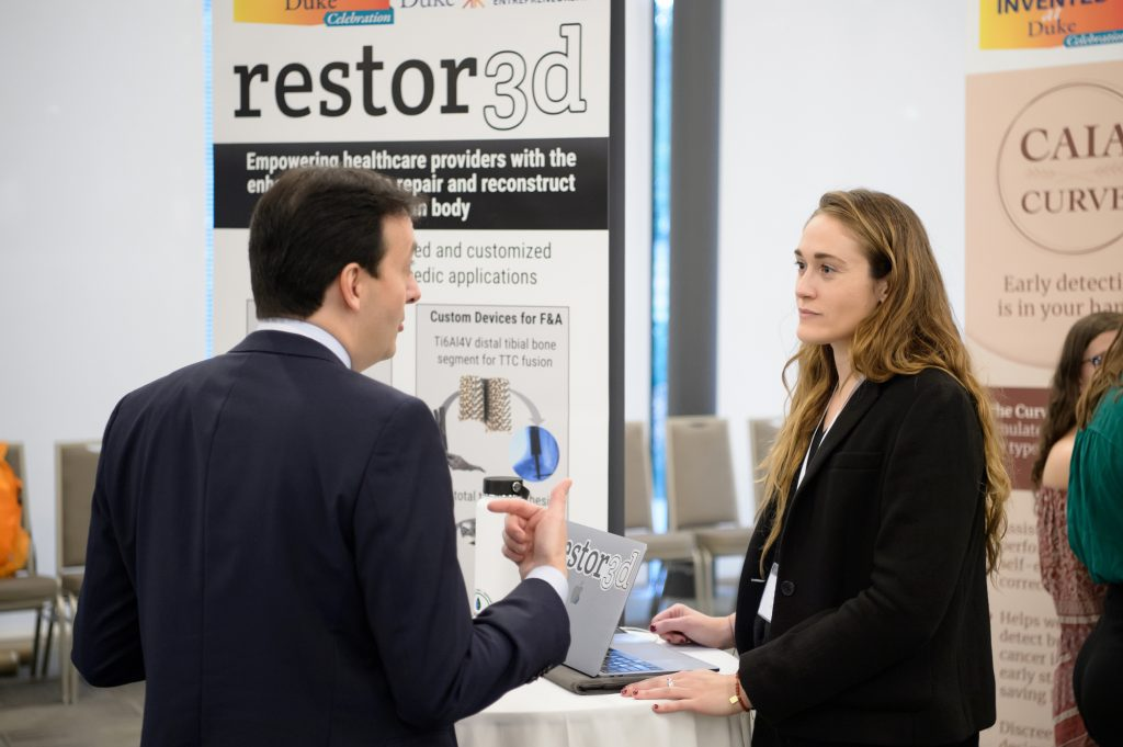 restor3d, founded by Ken Gall, produces orthopedic implants with enhanced anatomical fit and superior integrative properties using cutting-edge additive manufacturing (AM) technologies.