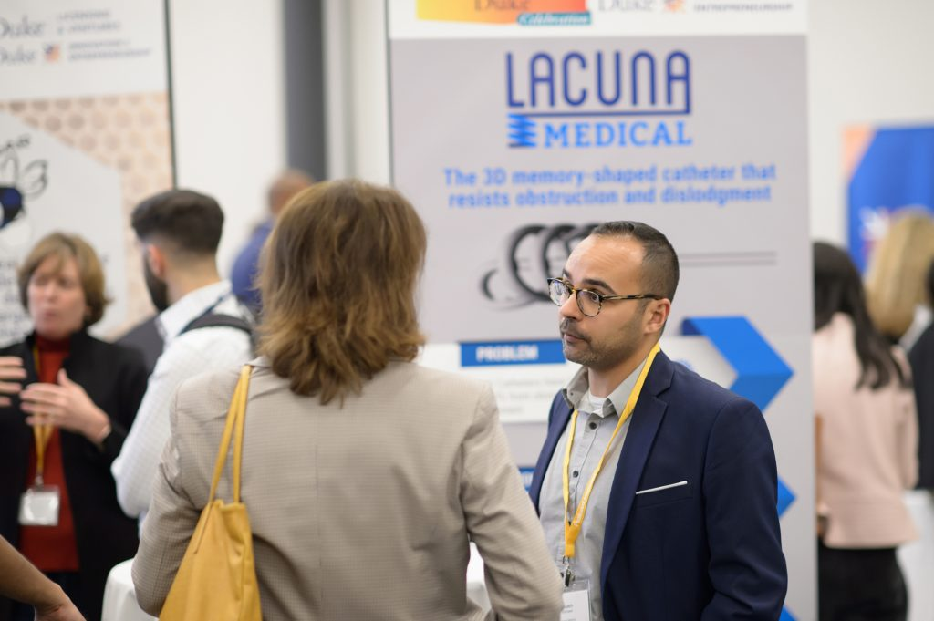 Lacuna Medical founded by inventor, Muath Bishawi, has developed a 3D-shaped memory catheter technology aimed at decreasing catheter failure and dislodgment.