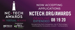 Logo for NC TECH AWARDS SUBMISSIONS